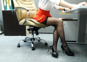 Role play secretary shows in live sex cams