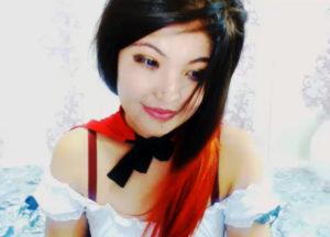 Beautiful Asian girl on cam